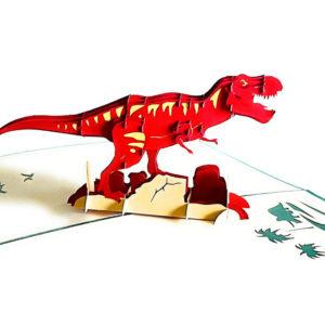 red t rex
