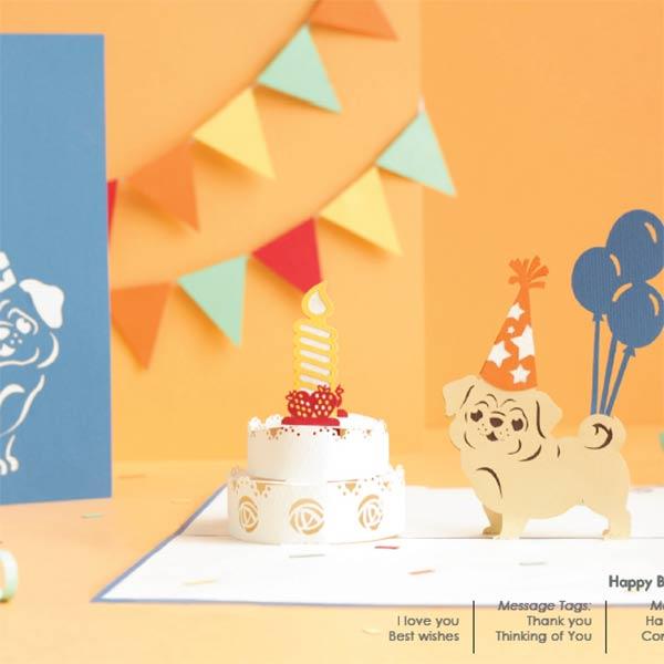 birthday 3d popup card